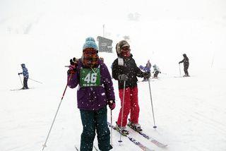 スキー教室 02