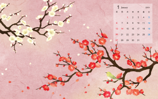 2019 カレンダー(1)